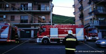 Catanzaro, incendio scoppia in un'abitazione