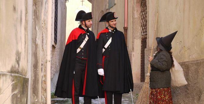 I carabinieri e la Befana a Tropea