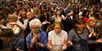 I santi non piangono a Cortina, le lacrime celesti scorrono solo al Sud