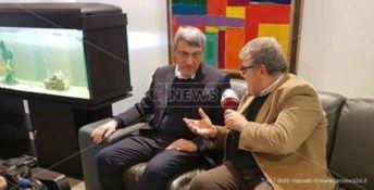 Landini con il direttore di LaCNews24 Pasquale Motta