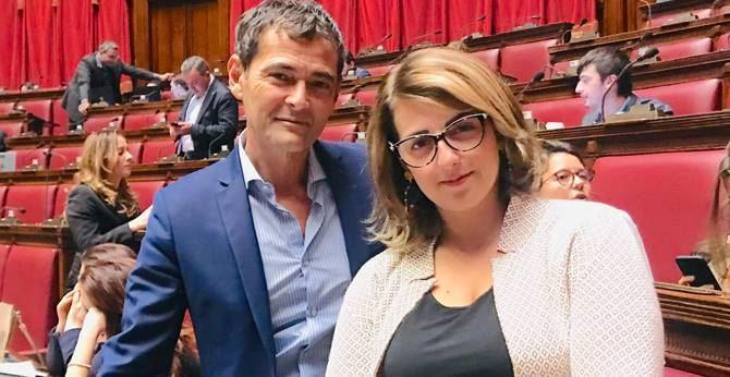 Francesco Sapia e Dalila Nesci