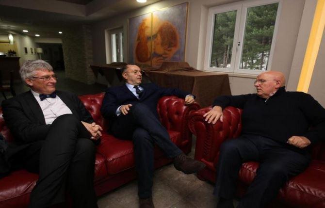 Incontro Cotticelli, Oliverio e Schael