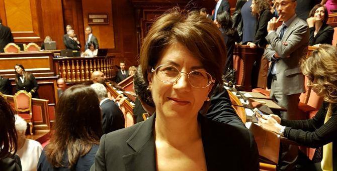 La senatrice Rosa Abate