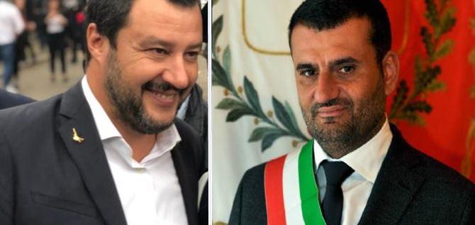 Matteo Salvini e Antonio Decaro