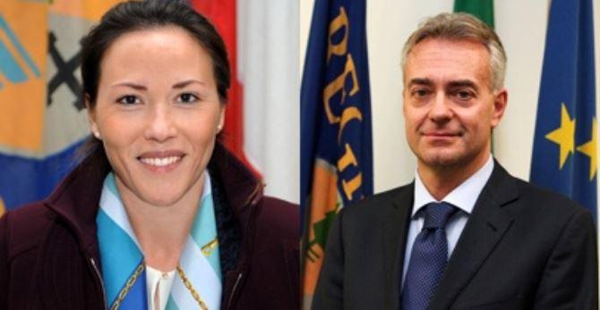Flora Sculco e Gianluca Gallo