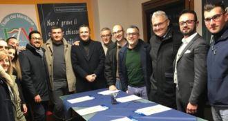 Amministrative a Rende, la Triade si allarga a Italia del Meridione