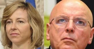 L'ex ministro Grillo e il governatore Oliverio