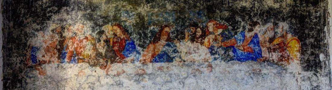 L'affresco scoperto a Saracena