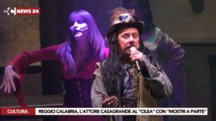 Lo spettacolo al teatro Cilea