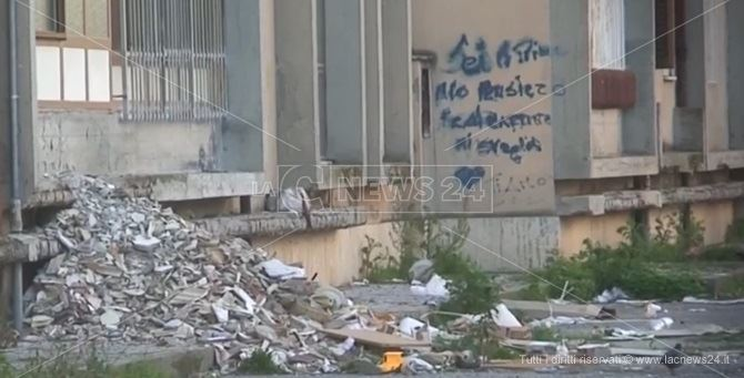 Uno scorcio del quartiere Aranceto di Catanzaro