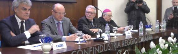 Boccia a Reggio: «Dalla Calabria deve partire lo sviluppo dell'Italia»