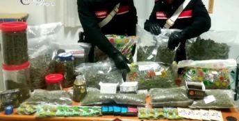 I prodotti rinvenuti dai carabinieri