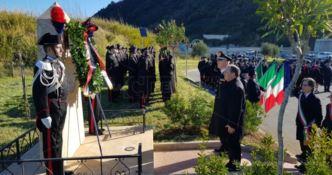 A Reggio lo struggente ricordo dei carabinieri Fava e Garofalo uccisi 25 anni fa