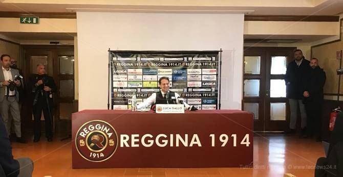 La conferenza stampa di Luca Gallo