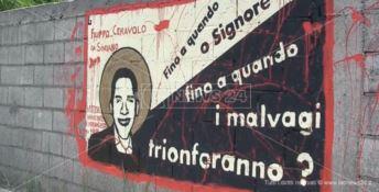 Il murales dedicato a Filippo Ceravolo
