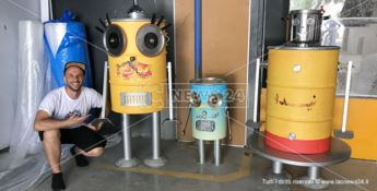 I robot dell'artista catanzarese Sirelli conquistano il cuore degli Emirati