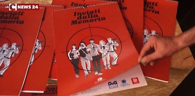 Il calendario dedicato ai giornalisti uccisi della mafia e terrorismo