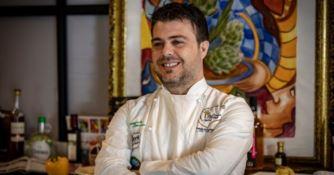 """Lo chef  calabrese Emanuele Mancuso tra i protagonisti del programma tv """"Tuttochiaro"""""""
