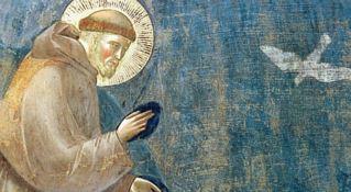 San Francesco di Assisi, opera di Giotto