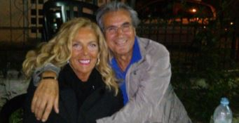 Antonella Grippo insieme al marito Francesco