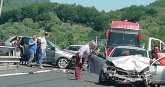 L'incidente a Cinquefrondi