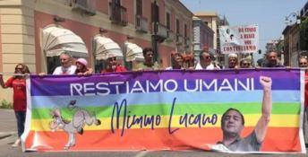 Il comitato Undici Giugno a favore di Lucano