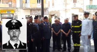 Ucciso per difendere la folla, Vibo ricorda il carabiniere Civinini