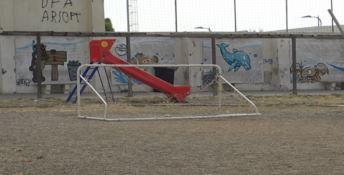 Area street sport Pellaro in preda ai vandali