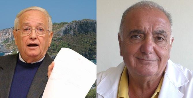 Il sindaco Antonio Praticò e il direttore sanitario Vincenzo Cesareo