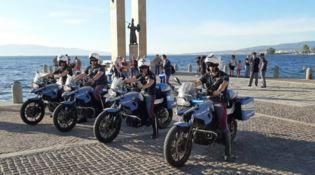 Reggio, arrivano tre nuove moto 'Nibbio' per il controllo del territorio