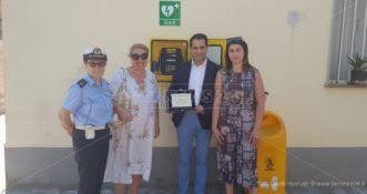 Terranova da Sibari città cardioprotetta: donato un defibrillatore