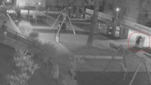 Cosenza, vandali al parco Piero Romeo ripresi dalla videosorveglianza