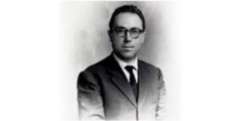 Un'immagine dell'epoca del consigliere comunale Giannino Losardo, trucidato dalla 'ndrangheta nel 1980