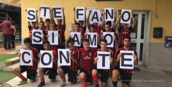 I giovani della Milan Academy di Paola durante il torneo San Francesco di qualche giorno fa