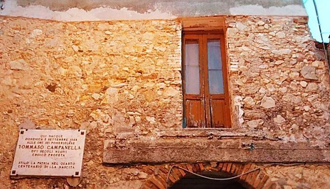 Stilo, la casa del filosofo Campanella