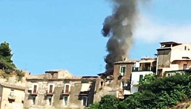 Incendio abitazione a Rossano