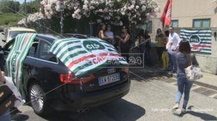 Call center,  protesta a Montalto: «A rischio 300 posti di lavoro»