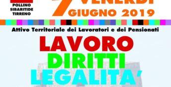 Lavoro, diritti e legalità: conferenza Cgil a Scalea