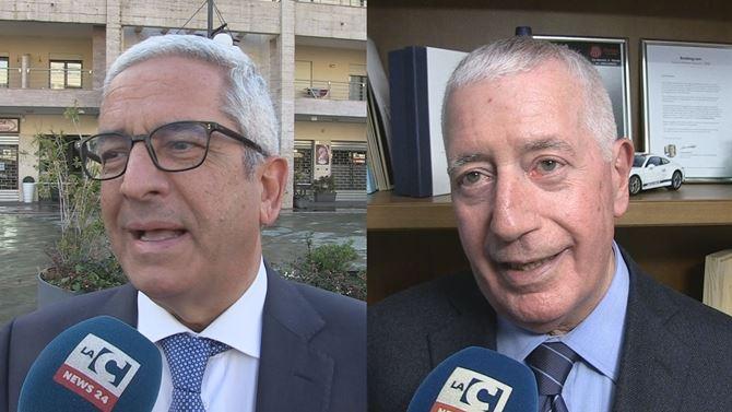 Marcello Manna e Sandro Principe