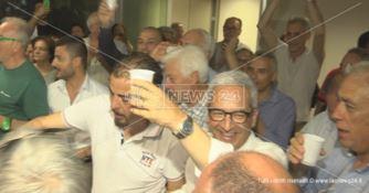 Rende, Manna di nuovo sindaco: «Bocciata la vecchia politica»