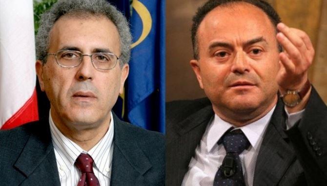 L'ex consigliere regionale Adamo e il procuratore Gratteri