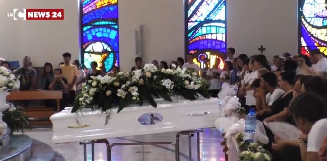 I funerali a Lamezia
