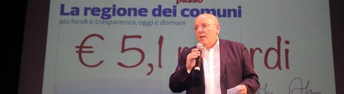 Mario Oliverio all'incontro di Soverato
