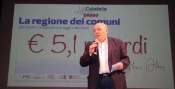 Mario Oliverio all'incontro di Soverato