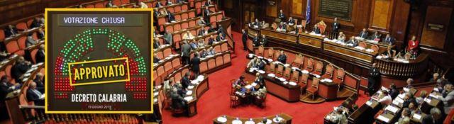 Sanità, il decreto Calabria ora è legge. Battaglia in Senato: «Incostituzionale»