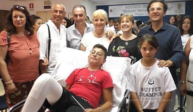 Gerardo in ospedale