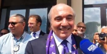 La Fiorentina a Rocco Commisso con la Calabria nel cuore