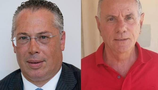 Raffaele D'Agostino e Aldo Alessio