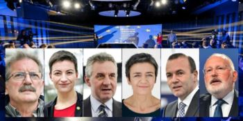 I candidati alla Presidenza europea (fonte: Europe Direct)