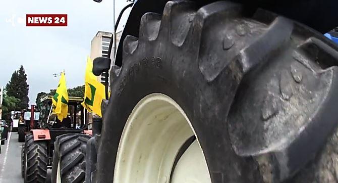 La marcia dei trattori a Vibo